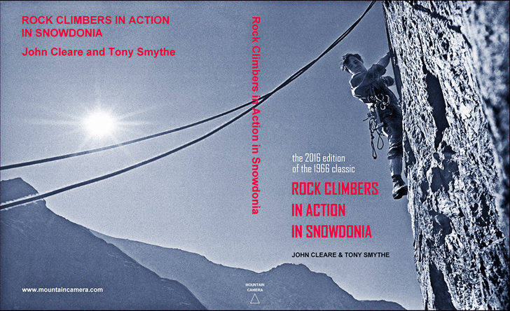 Rock Climbers in Action in Snowdonia