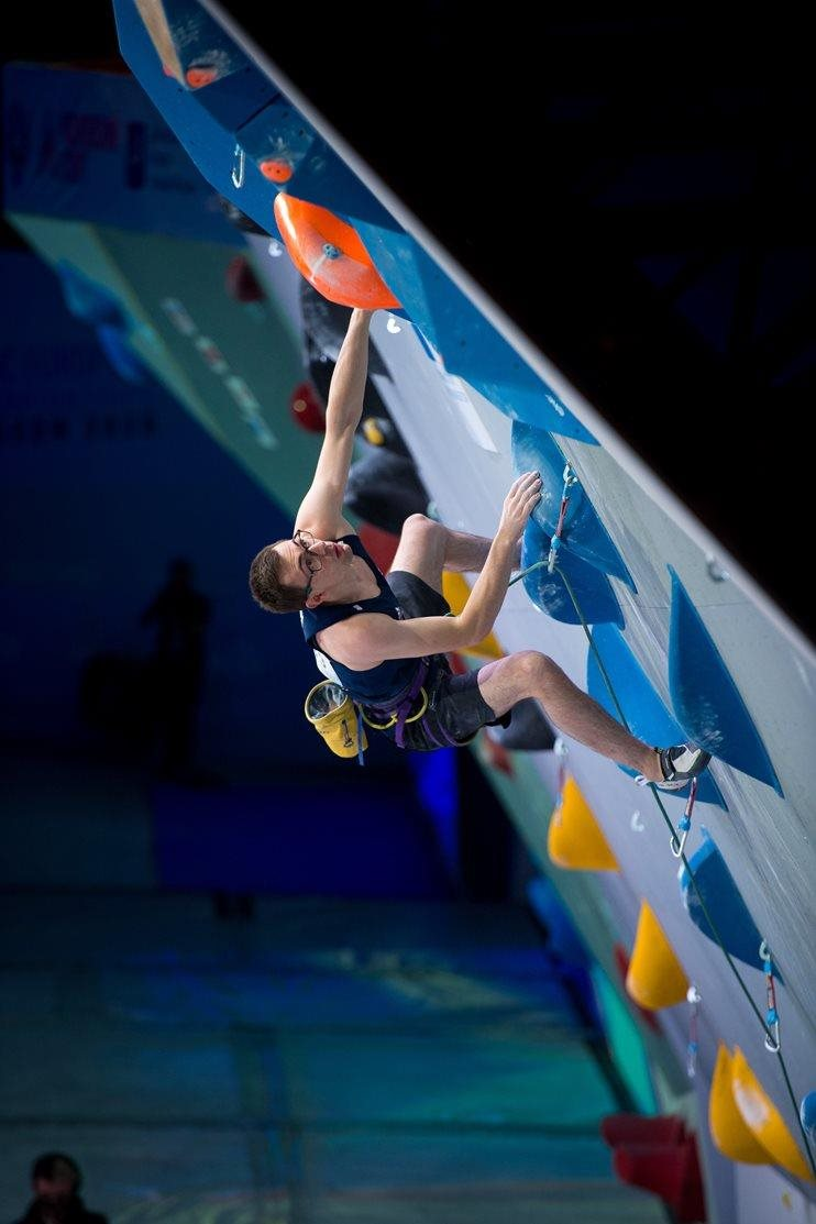 Will competing at the European Continental Championships in Moscow (both images), where he made finals but narrowly missed out on a qualifying ticket for Tokyo 2021. © Leo Zhukov.