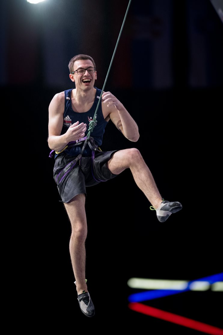 Will competing at the European Continental Championships in Moscow (both images), where he made finals but narrowly missed out on a qualifying ticket for Tokyo 2021. © Matt Bird.