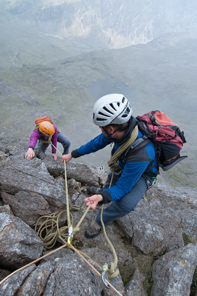 Scrambling Rope Work And Equipment